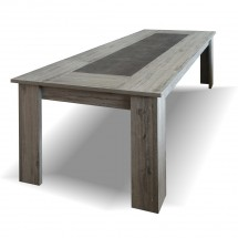 Jedálenský stôl Glen rozkladací (figaro, betón)