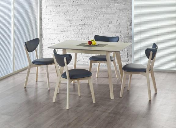 Jedálenský stôl Iglo - Jedálenský stôl 120x75 cm (bielené drevo)