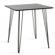Jedálenský stôl Jans (čierna)