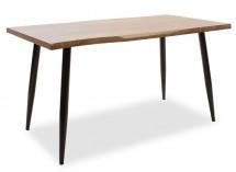 Jedálenský stôl Jans (orech, čierna)