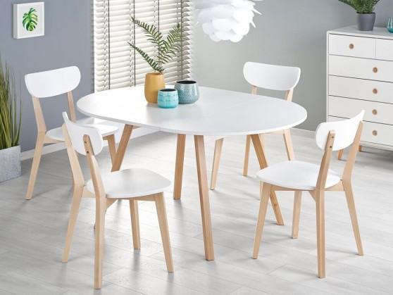 Jedálenský stôl Jedálenský stôl Fjord rozkladací (biela)