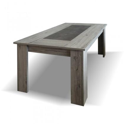 Jedálenský stôl Jedálenský stôl Glen - 160x76x90 cm (figaro, betón)