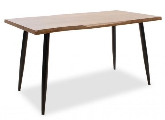 Jedálenský stôl Jedálenský stôl Jans (orech, čierna)