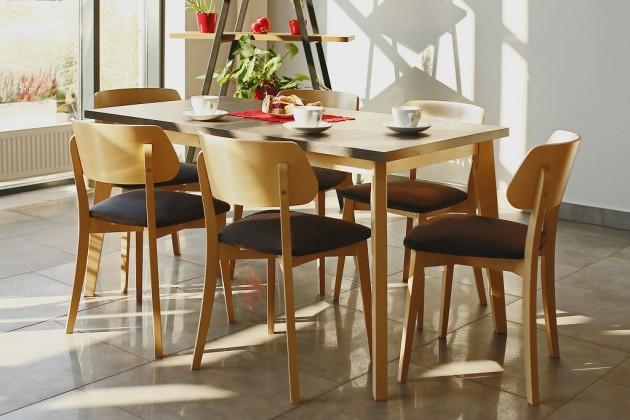 Jedálenský stôl Jedálenský stôl Ombo rozkladací (dub, betón)