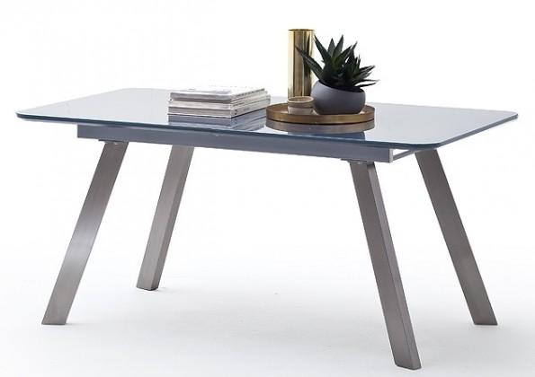 Jedálenský stôl Jedálenský stôl Omero rozkladací (sivá, strieborná)