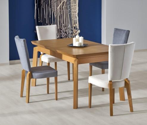 Jedálenský stôl Jedálenský stôl Rois - rozkladací , 160-250x90x78 (dub medový)