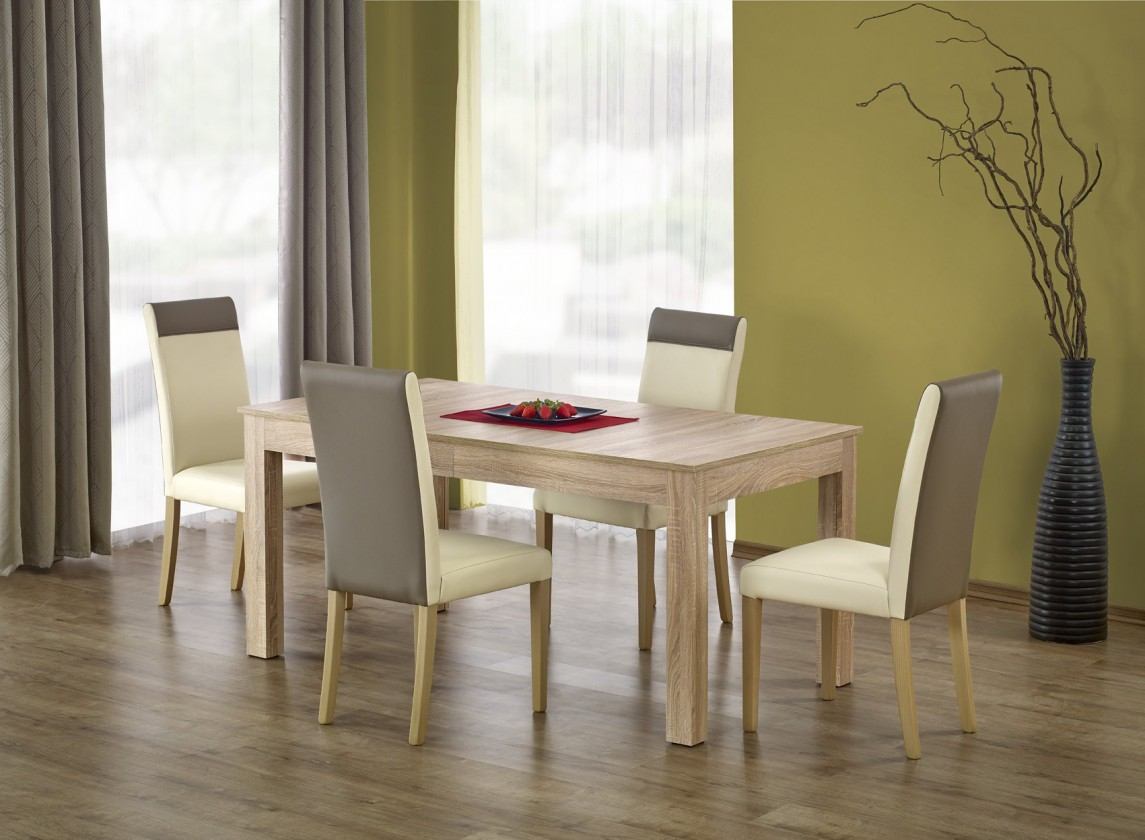Jedálenský stôl Jedálenský stôl Seweryn rozkladací - 160-300x90 (dub sonoma)