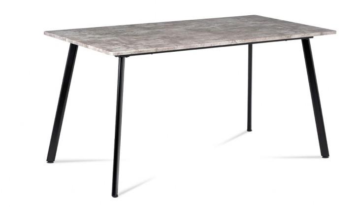 Jedálenský stôl Jedálenský stôl Torres (betón, čierna)