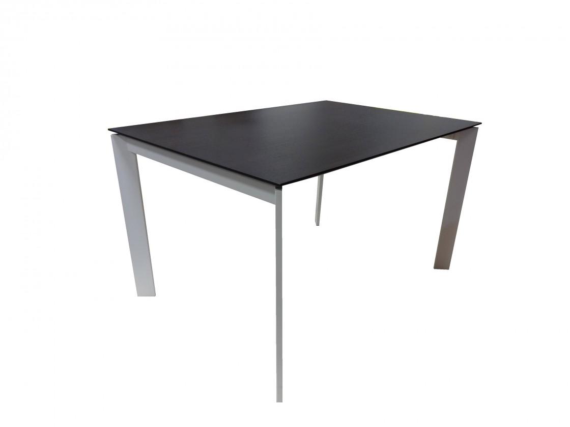 Jedálenský stôl Jedálenský stôl Universe rozkladací 130 (biela, wenge)