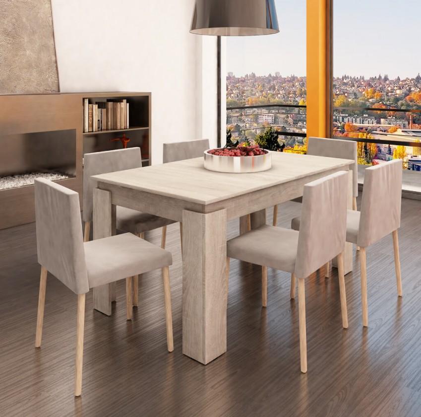 Jedálenský stôl Jedálenský stôl Vasco (dub sonoma)