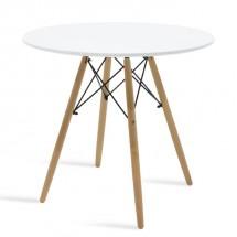 Jedálenský stôl Justy (biela)