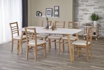 Jedálenský stôl Kajetan - rozkladací (135/185x76x82)