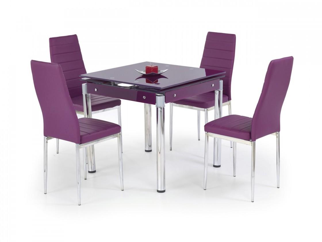 Jedálenský stôl Kent - Jedálenský stôl (fialová)