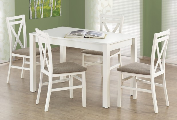 Jedálenský stôl Ksawery (biela)