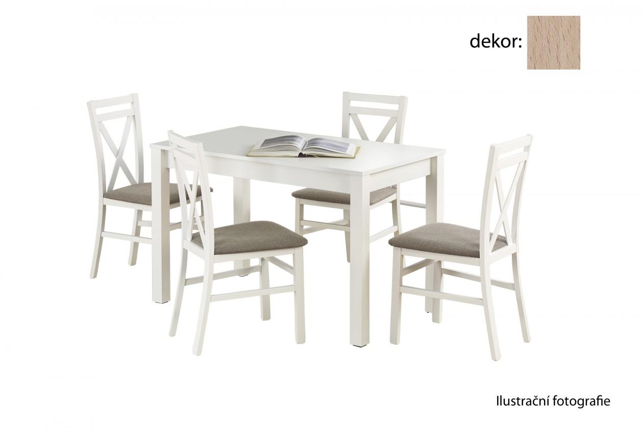 Jedálenský stôl Ksawery (dub sonoma)
