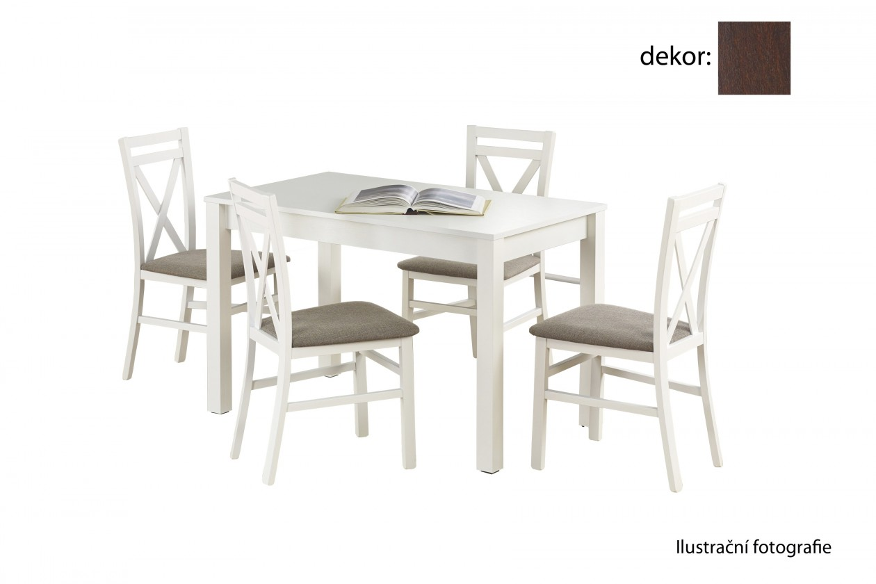 Jedálenský stôl Ksawery (orech tmavý)