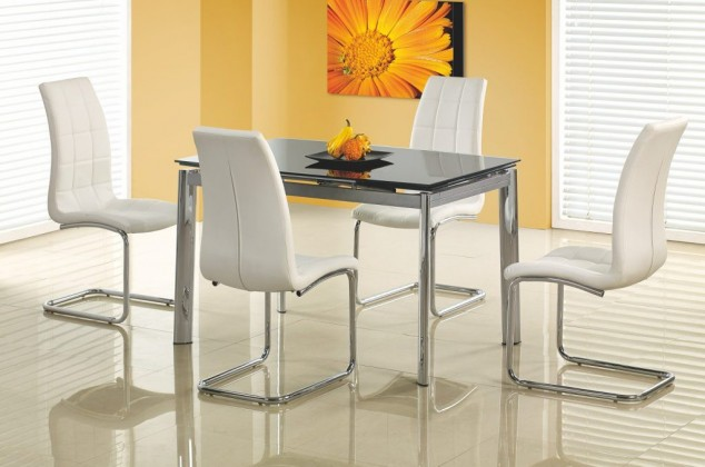 Jedálenský stôl Lambert (čierná)
