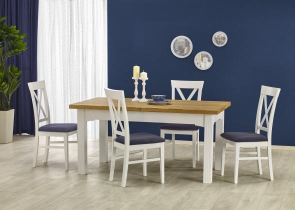 Jedálenský stôl Leonardo - Jedálenský rozkladací stôl (masív)