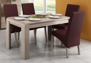 Jedálenský stôl Link rozkladací (dub sonoma)