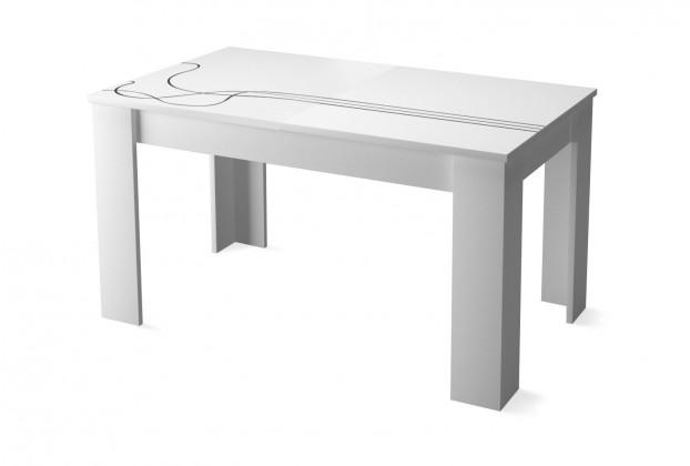 Jedálenský stôl Lino - Jedálenský stôl (biela)