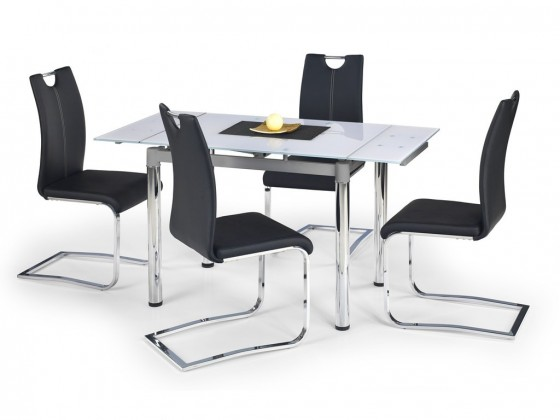 Jedálenský stôl Logan 2 - Jedálenský stôl (biela)