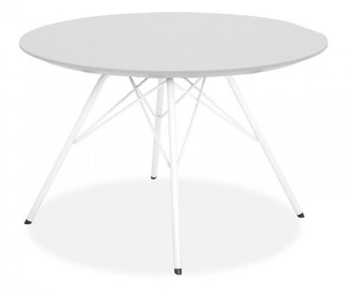 Jedálenský stôl LOLA 9306-001+PORGY 9316-801 (biela)
