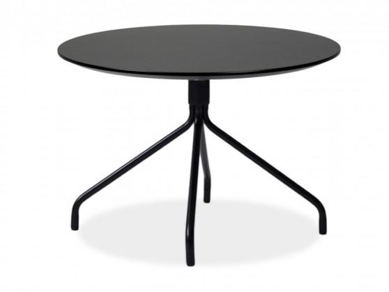 Jedálenský stôl LOLA 9306-024+EGO 9319-824 (čierna)