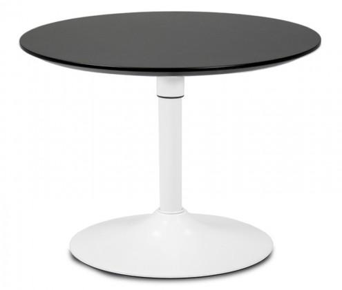 Jedálenský stôl LOLA 9306-024+TRUMPET 9341-801 (čierna,biela)
