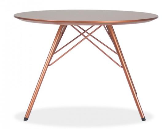 Jedálenský stôl LOLA 9306-089+PORGY 9316-889 (meď)