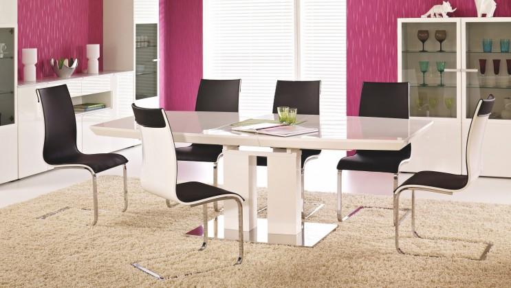 Jedálenský stôl Lorenzo(biela)