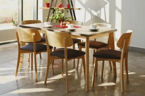 Jedálenský stôl Ombo rozkladací (dub, betón)