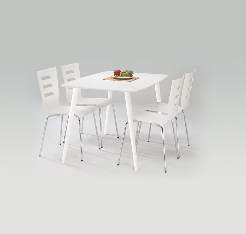 Jedálenský stôl Omega  (biela)