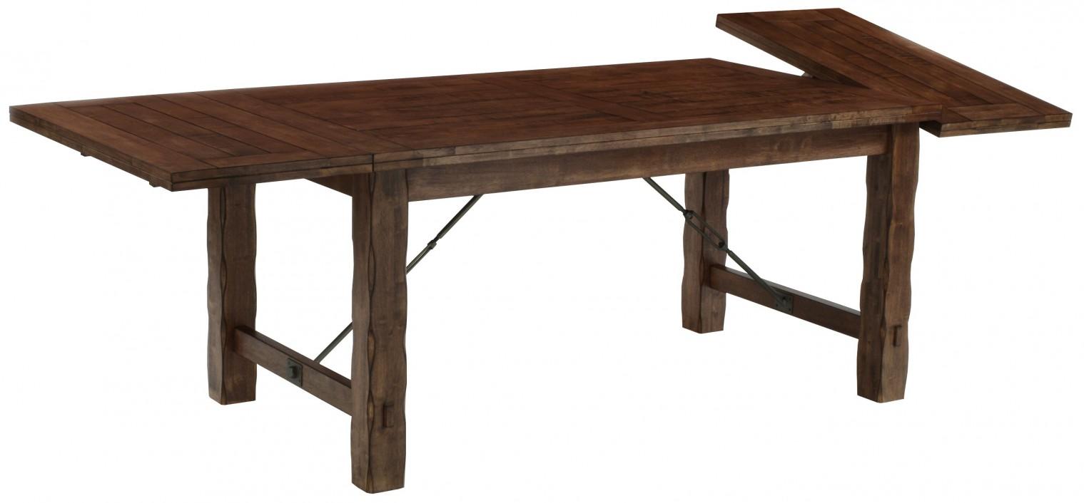 Jedálenský stôl OMESSA(kaučukovník, morenie orech)