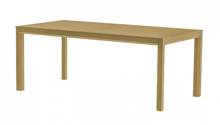 Jedálenský stôl Patch (dub masiv, dýha dub)