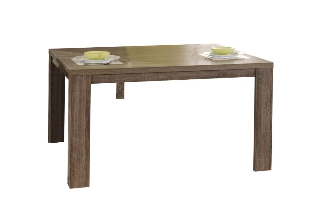 Jedálenský stôl Raffia C070 (dub čierny)