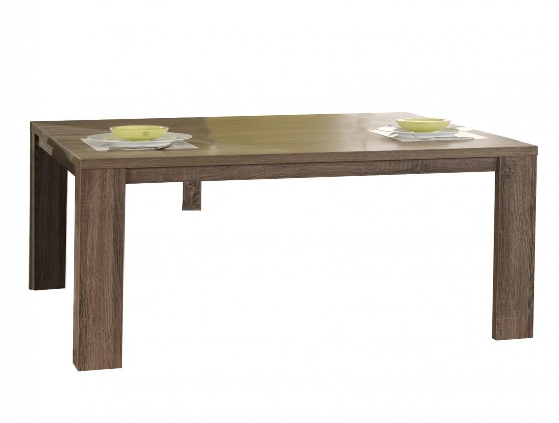 Jedálenský stôl Raffia C072 (dub čierny)