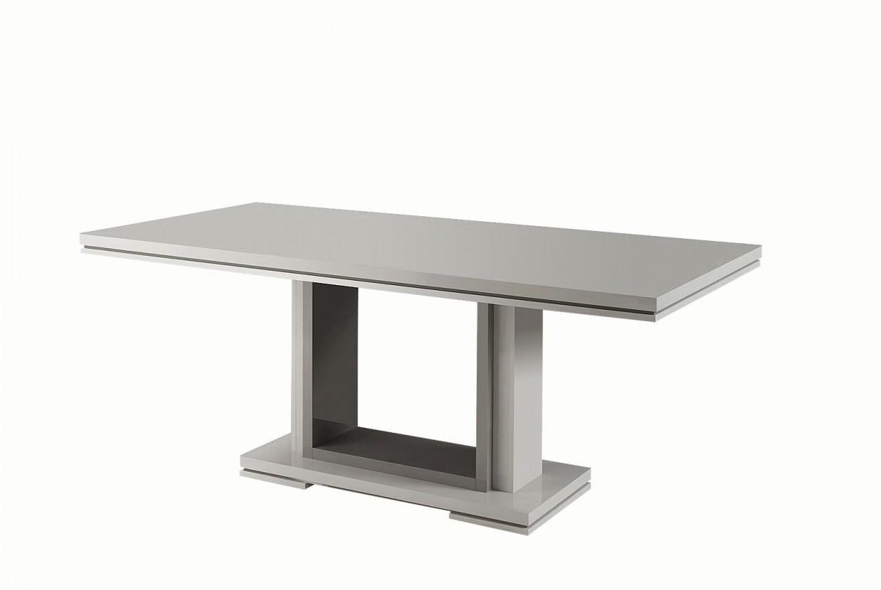 Jedálenský stôl Rimini - Jedálenský stôl 190 cm (tmavo sivá/sivá)