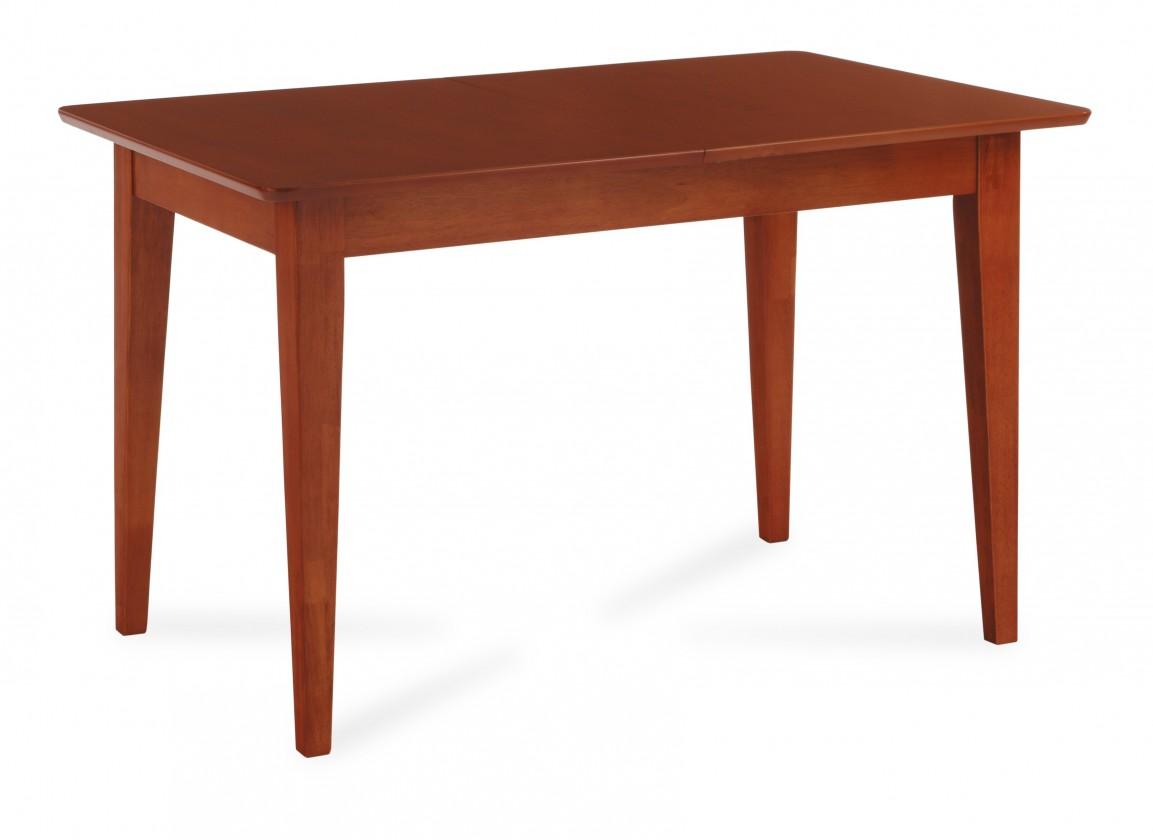 Jedálenský stôl RONDINE(kaučukovník, morenie čerešňa)