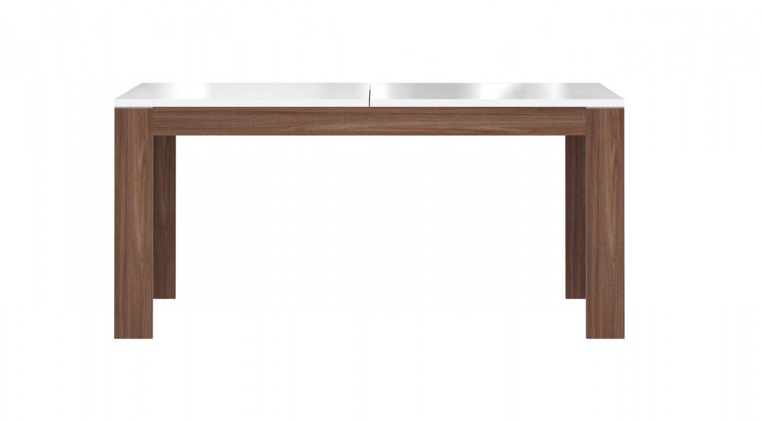 Jedálenský stôl Saint Tropez-XELT16(J33 - dub sangalo/biely lesk)