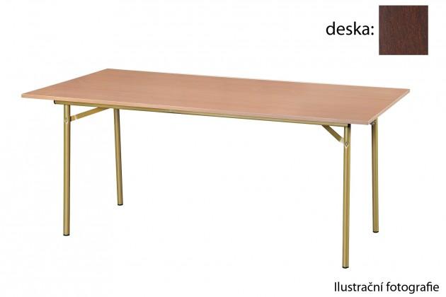 Jedálenský stôl Salsa-90(orech tmavý)