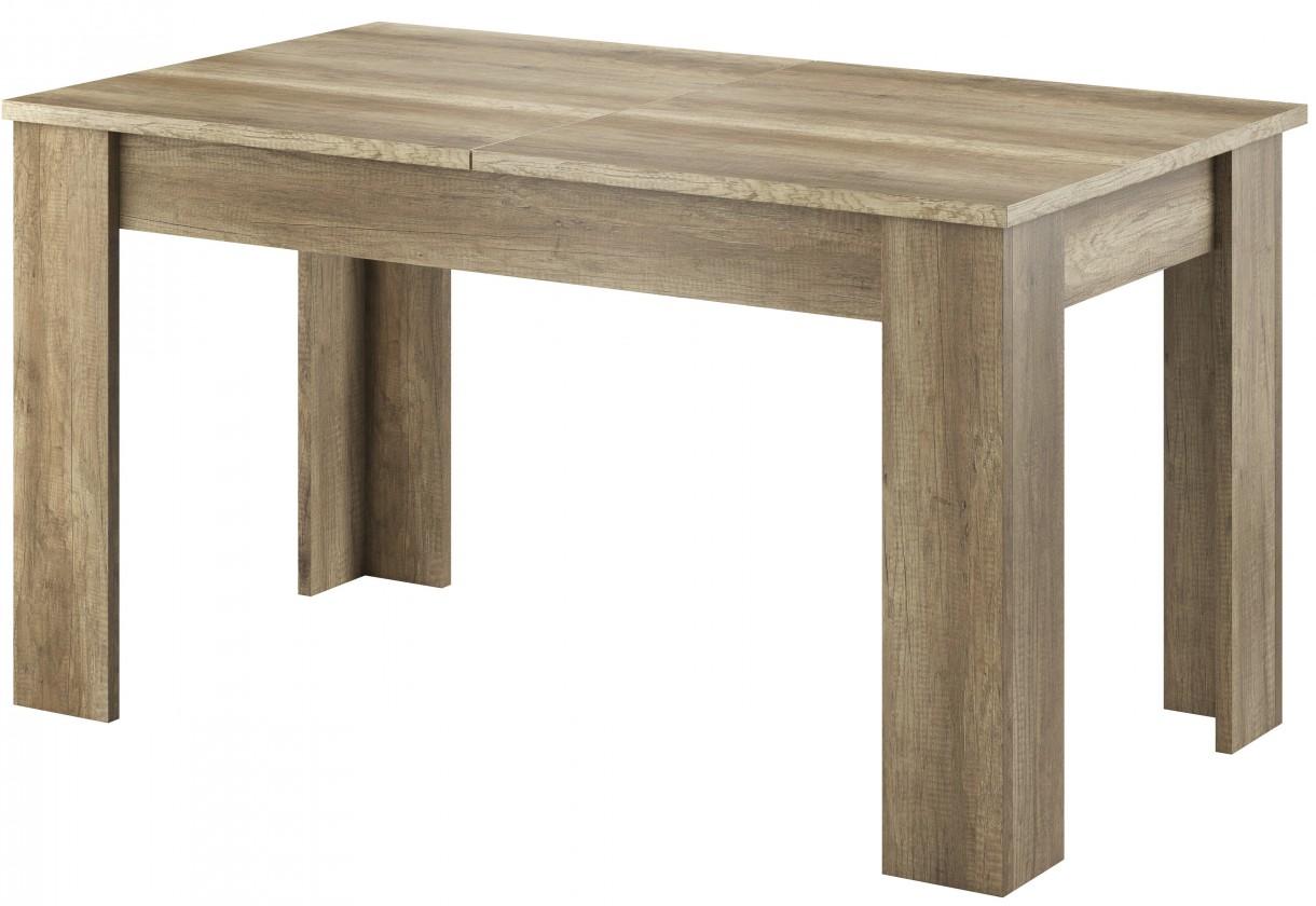 Jedálenský stôl Sky - Jedálenský stôl, ABS (country sivá)