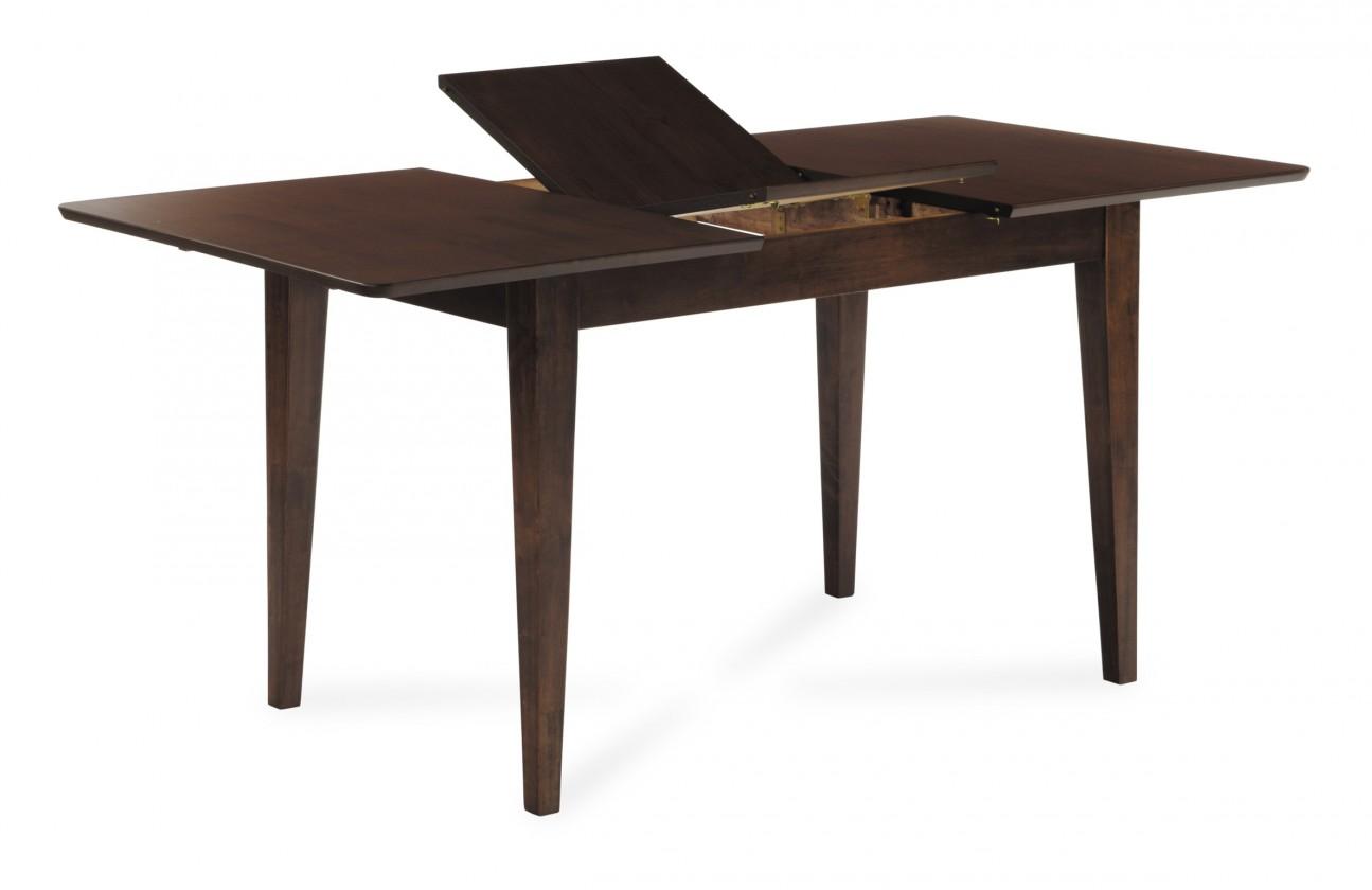 Jedálenský stôl SOTTA(kaučukovník, morenie orech)