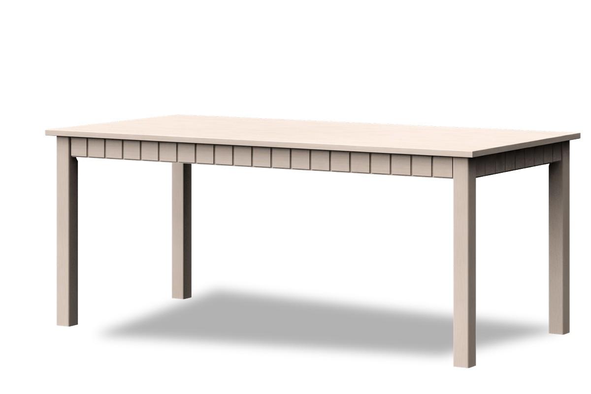 Jedálenský stôl Tampere B TYP JS-180 (vanilka patina)