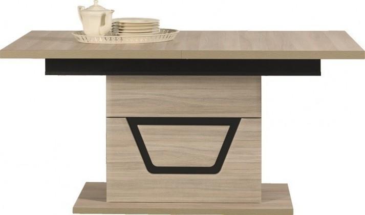 Jedálenský stôl Tes - Jedálenský stôl (brest, korpus a fronty)