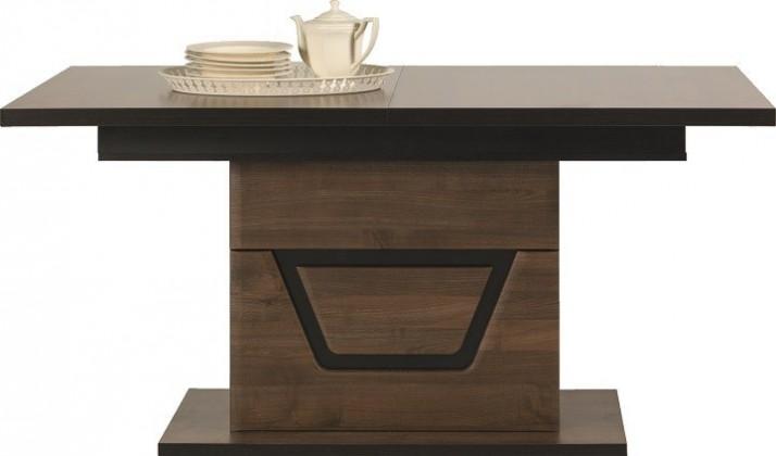 Jedálenský stôl Tes - Jedálenský stôl (ořech, korpus a fronty)