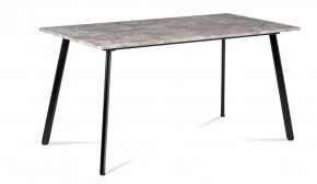 Jedálenský stôl Torres (betón, čierna)