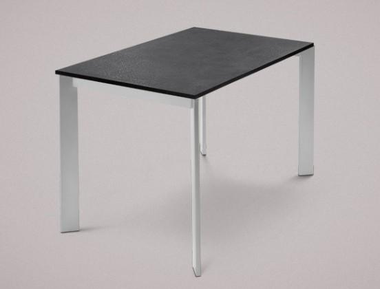Jedálenský stôl Universe-110 (hliník - nohy, lamino bridlice - doska)