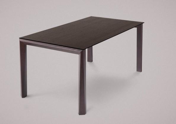 Jedálenský stôl Universe-130 (wenge - nohy, wenge - doska)