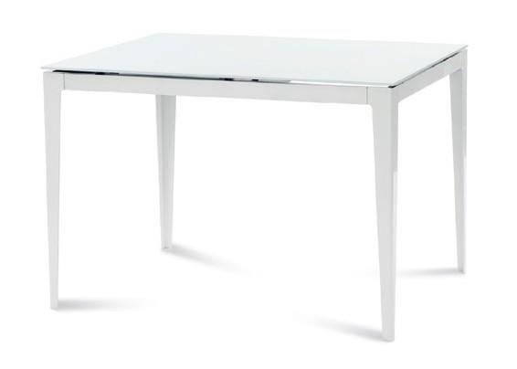 Jedálenský stôl Wind 110 (Biela/sklo)