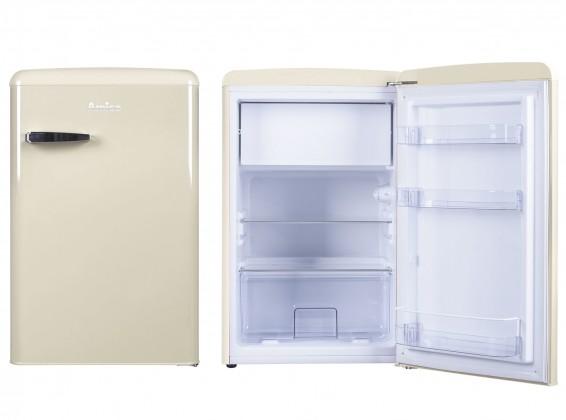 Jednodverové chladničky s mrazničkou Chladnička retro s mrazničkou Amica VT 862 AM, A++